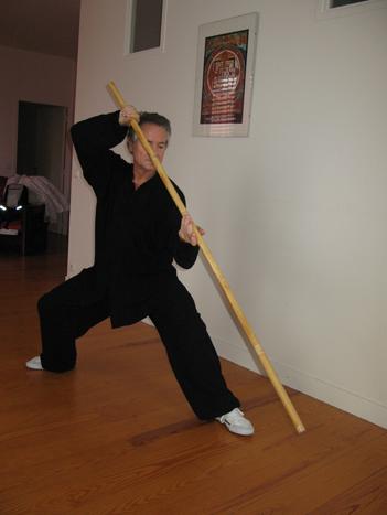 combat bâton court